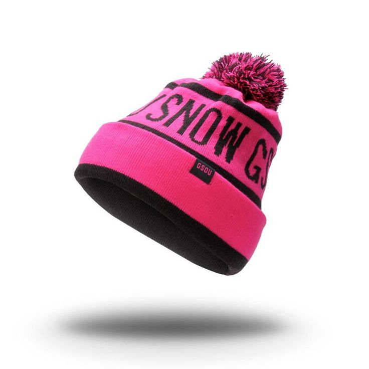 Unisex Brand New Men Women Skiing Hats Warm Winter Hat Gsou Snow knitting Hat Skating Stripe Cap Ski Hat Beanies Cap Ski Cap