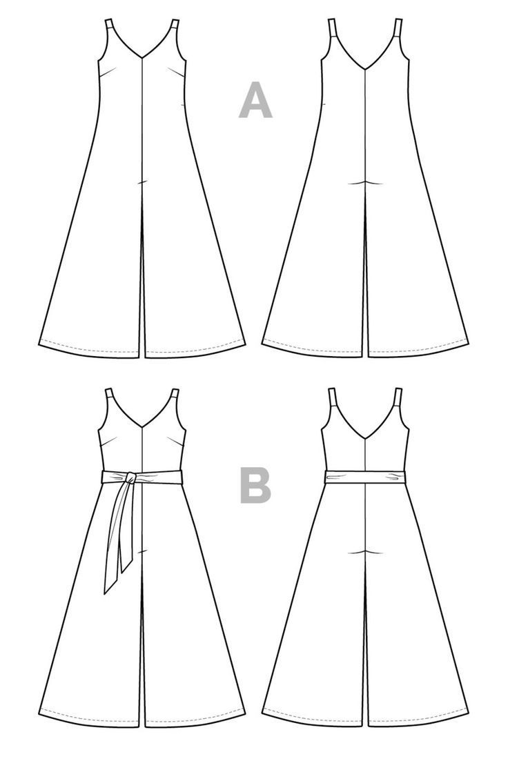 Amy Jumpsuit Pattern - PDF Download   Sewing Patterns I love