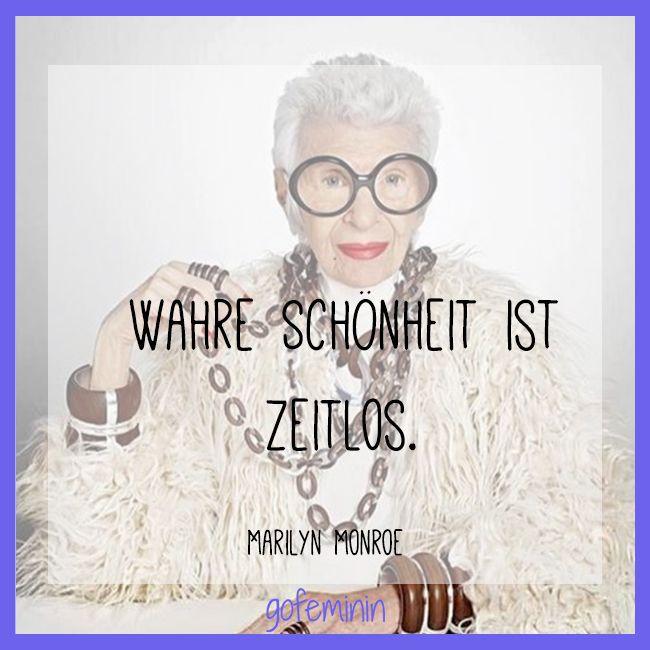 Wahre Schönheit - Zitat von Marilyn Monroe