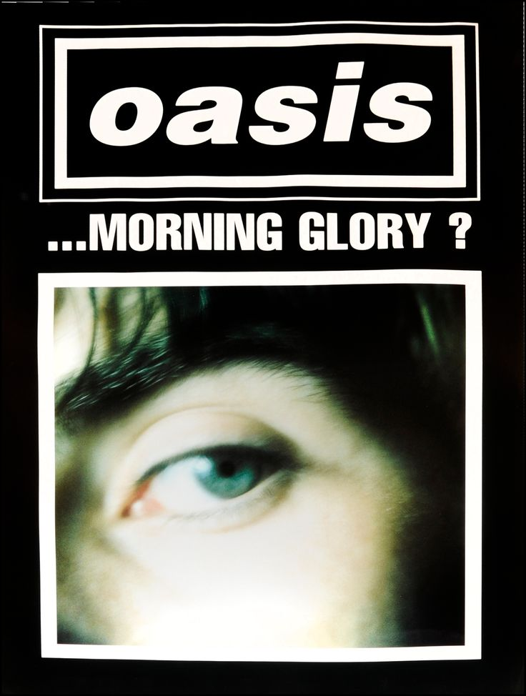 Oasis - Whats the story morning glory (Black)