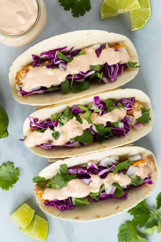 Best Fish Taco Sauce Recipe Sauce Fanatic Recipe Taco Sauce Recipes Fish Taco Sauce Grilled Fish Tacos