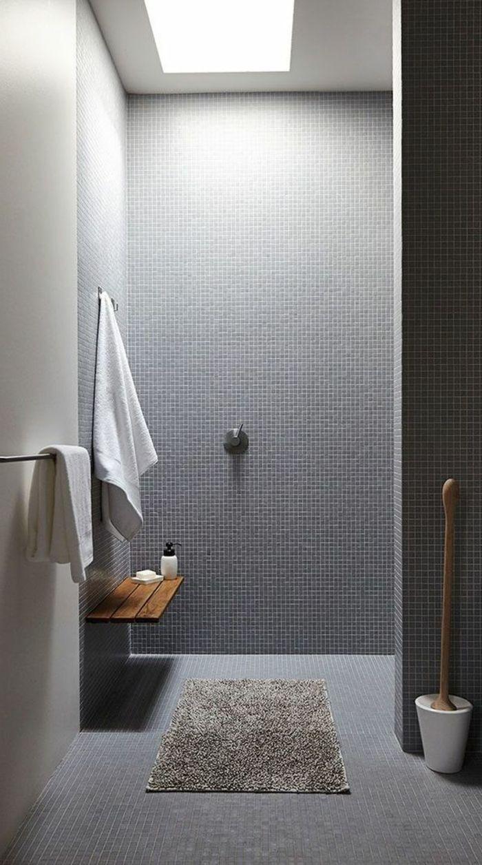 porte serviette conforama, mosaique murale dans la salle de bain