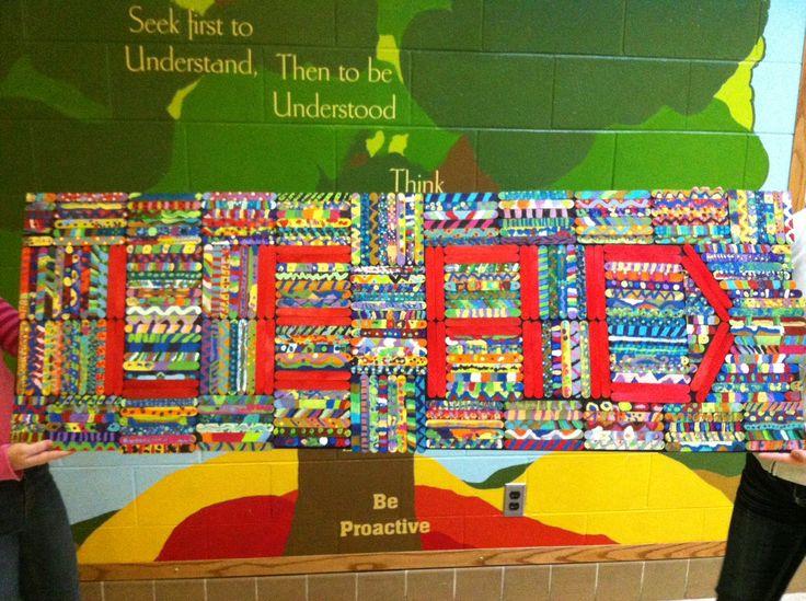 625 best leader in me images on pinterest leader in me for 7 habits tree mural
