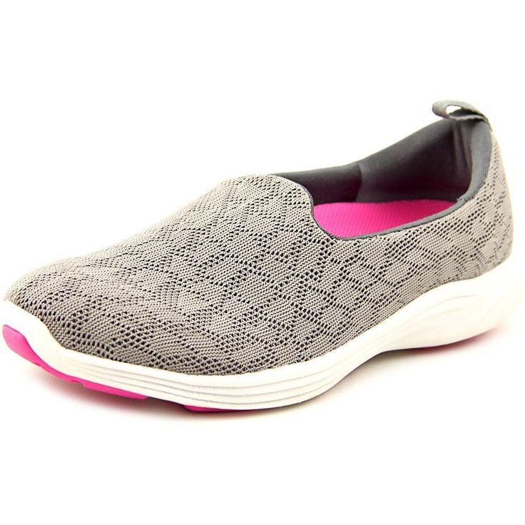Vionic Women's Orthotic Mesh Shoes Slip-on Sneakers Agile Hydra Grey  Medium): Flexible EVA midsole absorbs shock, helping reduce stress on feet,  ankles, ...