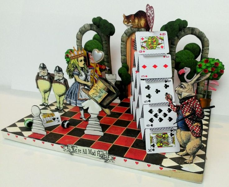 Artfully musing alice in wonderland tarot cards Alice and wonderland art projects