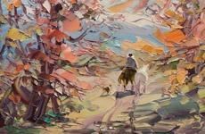 George Miciu, un pintor Argentino.Art, George Miciu