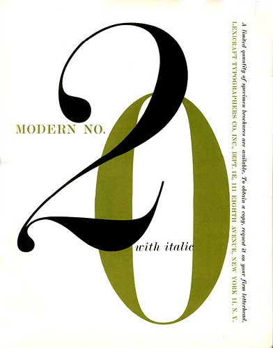 Modern no. 20, one of my absolute favorites.