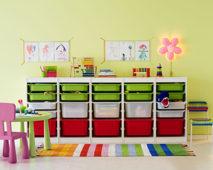 Children can have hundreds of toys. Combine as many boxes and frames that you need to fit your space and say goodbye to kid's clutter.
