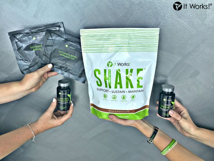 The Metabolic Burn  Pack has been synergistically designed to support your weight loss goals! #CommitDontQuit  This pack includes: ✅ Two Wraps to tighten, tone and firm your skin ✅ Fat Fighter to help absorb less fat and carbohydrates from your food ✅ It Works! Shake to help you build lean muscle mass  ✅ Ultimate ThermoFit to fire up your metabolism for increased calorie burning