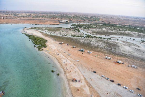 سياحة أم القيوين تعلن افتتاح تجريبي لشاطئ القرم في الإمارة لتعزيز السياحة البيئية Places To Visit Tourism Country Roads