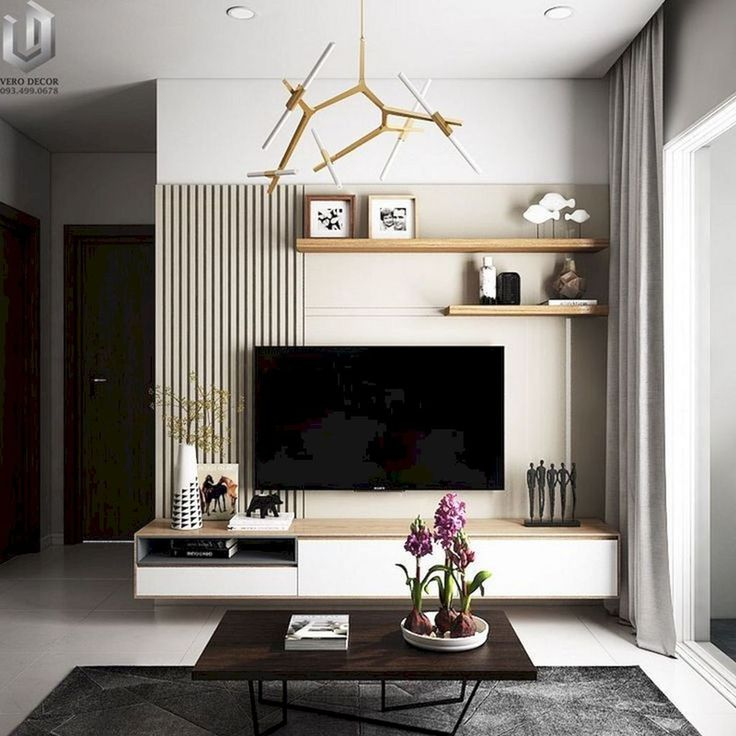 15 Modern Living Room Ideas: 15+ Fabulous Wall TV Design Ideas For Cozy Living Room In