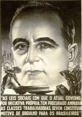 President Getulio Vargas was dictator of Brazil from 1932 to 1945 and an elected President 1951 to 1954 when he committed suicide.  Vargas was a  recipient of U.S. aid in  the 1930s-40s.  He rose  to power through a coup.  His controversial policies toward  the Axis powers during WWII caused great concern in Washington .