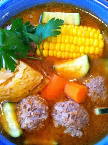 ALBONDIGAS~ yummy! Yesterday afternoon, I was able to make some. I was so happy because last week when it was cold and rainy, I got ...