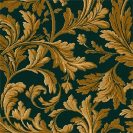 Wilton Carpets Commercial - Ready To Weave - Our Design - Classical Dimensions 3 - Baroque Infill