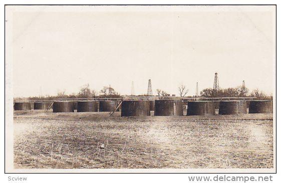 RP; Oil Tanks, ROBINSON, Illinois, 1910-1930s