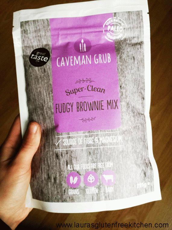 Caveman Grubs Fudgy Brownie Mix (Review)