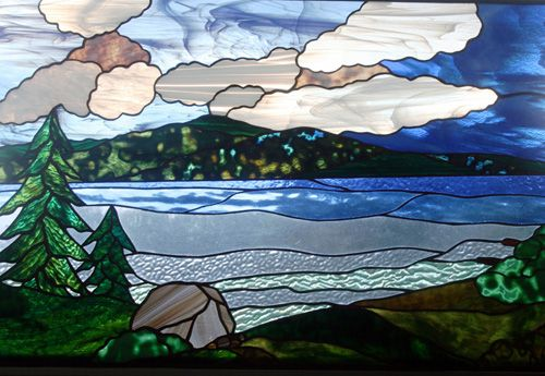 Fred Varney Stained Glass - Lake