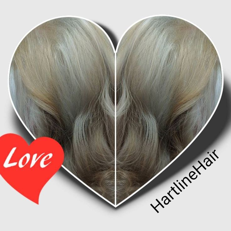 Love what can be created with team work.  Learned some tricks from a team mate that helped toward orange to WOW!  #hairbesties #blonde #silverhair #matrix SPV with SPA #wave #marcel #hartlinehair #toner