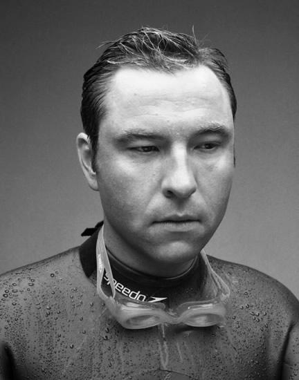Fergus Greer - David Walliams portrait