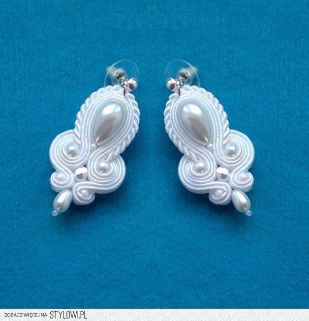 Kolczyki Biała Perła - Marisutasz - Biżuteria ślubna