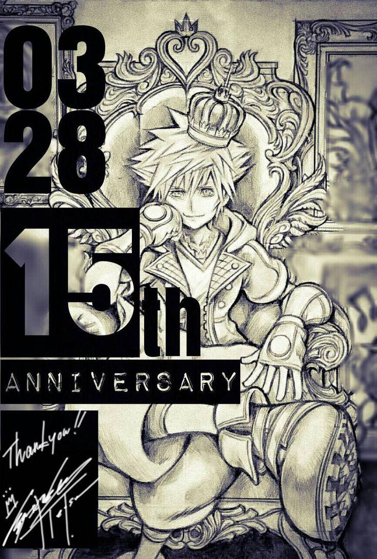 New Nomura Art Released to Celebrate Kingdom Hearts' 15th Anniversary - News - Kingdom Hearts Insider
