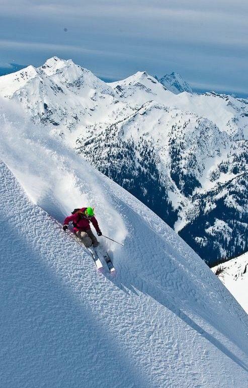 Wat een uitzicht! Trek jij binnenkort naar de bergen? http://www.snowx.nl