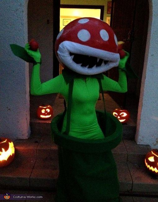 mario bros piranha plant homemade costumes for women - Koopa Troopa Halloween Costume