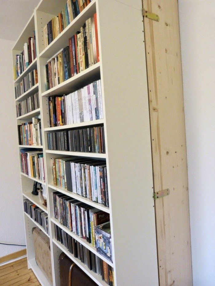 Lit dans une étagère