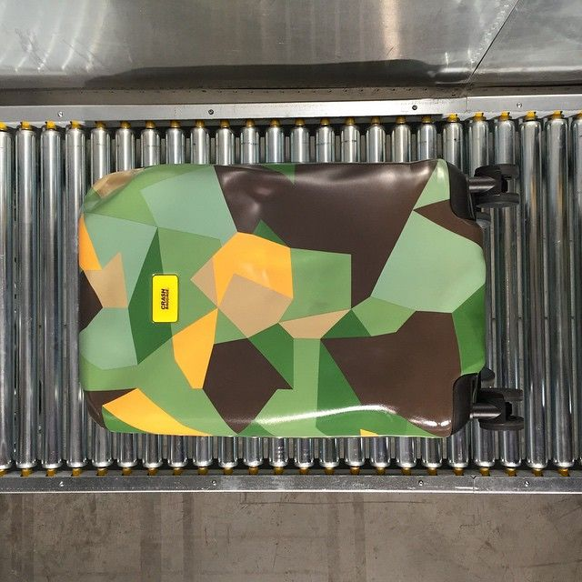 Spotted in Paris the new Camo Limited! Crash Baggage #crashbaggage #maisonobjet #exhibition
