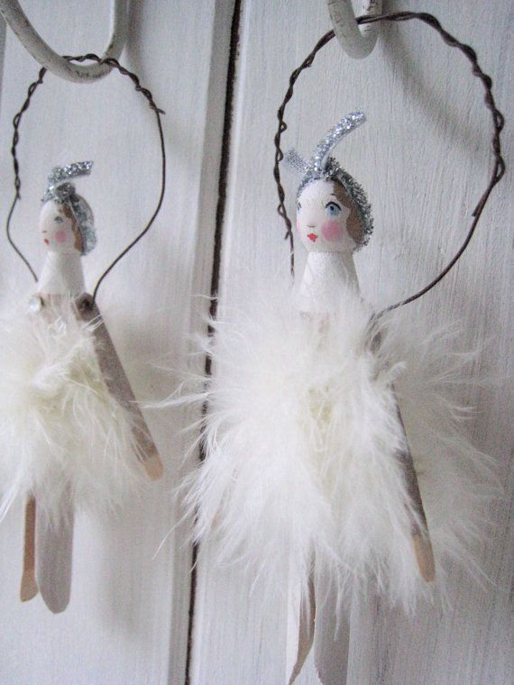 Vintage Peg Fairy by SophieTilleyDesigns on Etsy