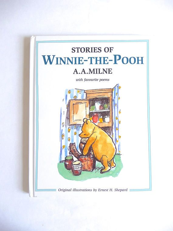 Stories of Winnie-the-Pooh by A.A. Milne and Illustrated by