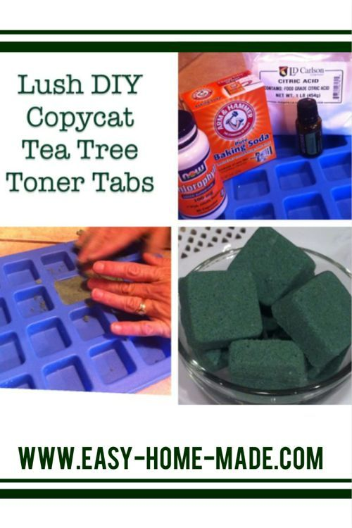 This Lush copycat recipes is a great toner. These tea tree toner tabs are easy to make and great for wrinkle prevention as well as healthy aging.