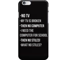 Teen Wolf cover - No Stiles! iPhone Case/Skin