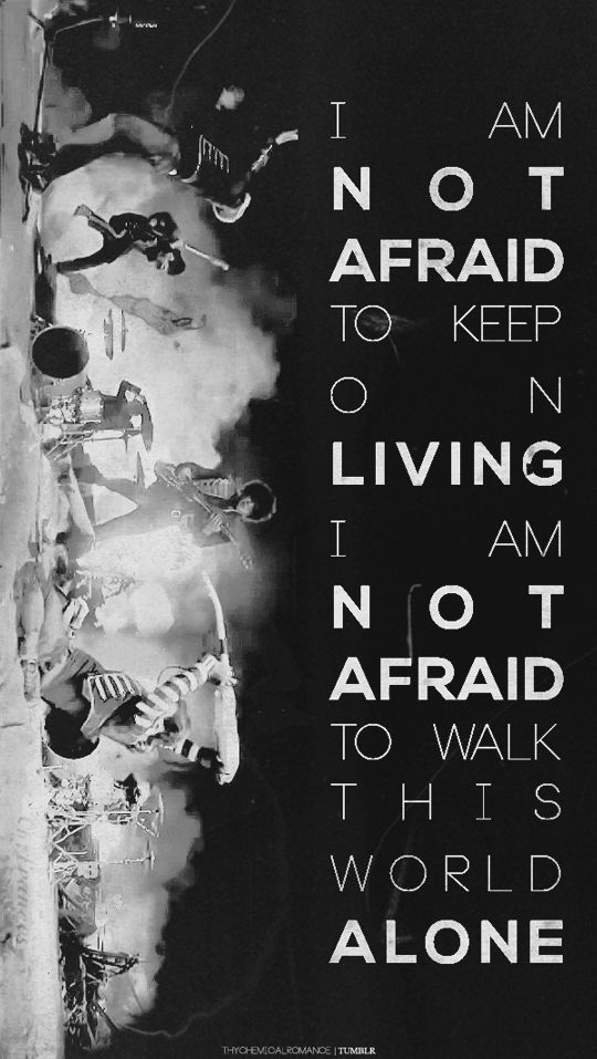 """My Chemical Romance 