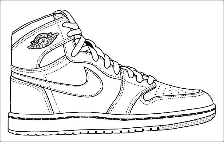 Personable Nike Air Max Coloring Pages Coloring For Sweet Nike