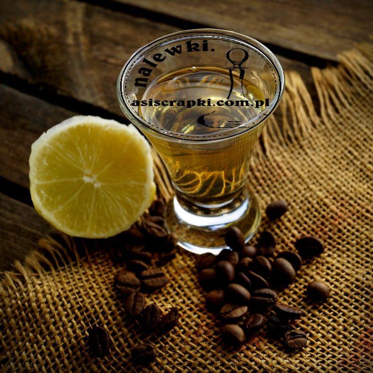 Nalewka cytrynowa z kawą - Nalewki domowe- przepisy