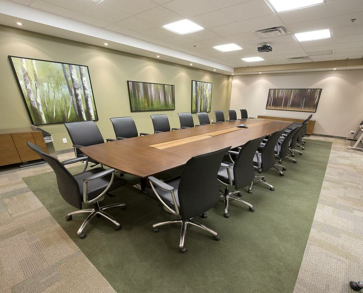 With Use Of Technology Within The Boardroom Tables Allows