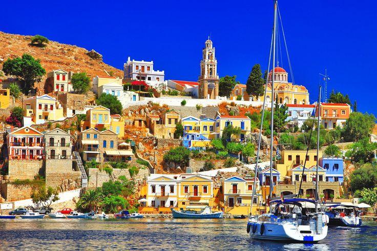 Sailing to Symi island  www.callgreece.gr