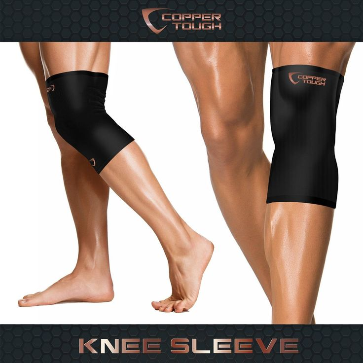 Copper Tough Compression Sleeves for Ankle, Calf, Elbow and Knee