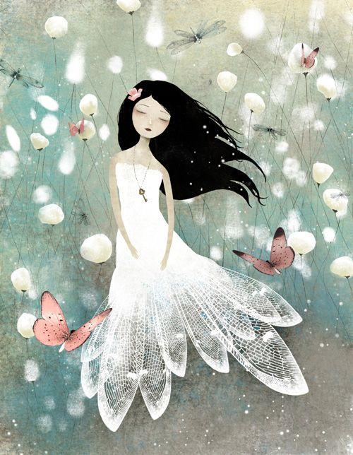 Ilustraciones de Anne-Julie Aubry  Muy buenas