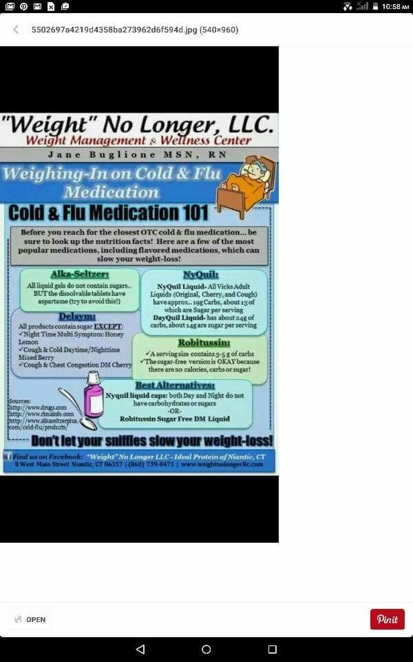 Cold and Flu Medication