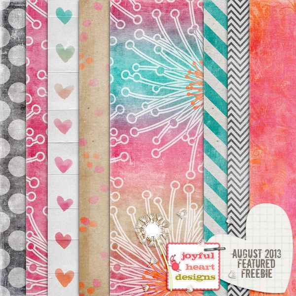 """Featured Freebie from Aug. 2013 :) by JoyfulHeartDesigns ✿ Join 7,600 others. Follow the Free Digital Scrapbook board for daily freebies. Visit GrannyEnchanted.Com for thousands of digital scrapbook freebies. ✿ """"Free Digital Scrapbook Board"""" URL: https://www.pinterest.com/sherylcsjohnson/free-digital-scrapbook/"""