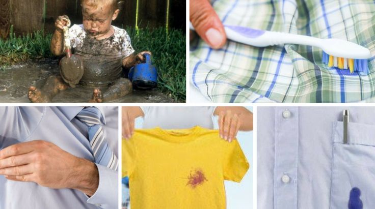 Como tirar manchas da roupa