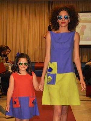 Vestidos en lino WWW.ladysabel.com