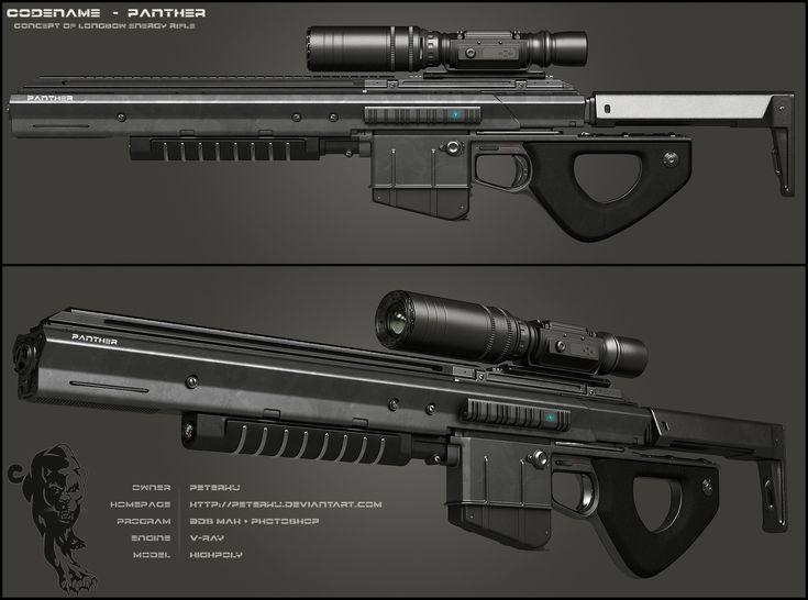 PANTHER Rifle - Secondary by peterku.deviantart.com on @DeviantArt