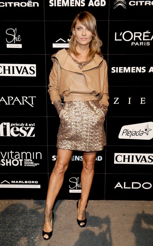 wstecz następne · Aneta Kręglicka w sukni Zienia z kolekcji karnawałowej 2011/2012 Zobacz duże zdjęcie fot. Materiały prasowe Zień Zdjęcie 2 z 8