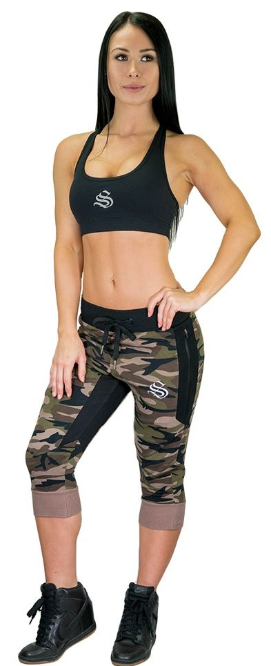 Womens MeshTech 3/4 Training Pant - Green Camo  You asked for it, we delivered! After thorough testing, the womens 3/4 training pant range has landed and were confident you will love them!Women's Singlets | Women's fashion | Women's style | Women's outfit | Women's gym dress | #Singlets # fashion #style #outfit #gym