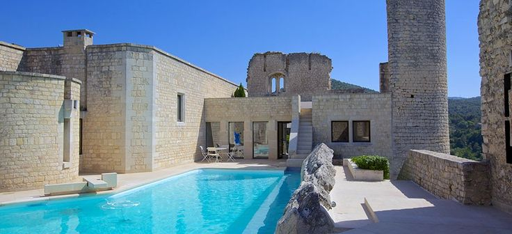 A modern-day fortress in Provence