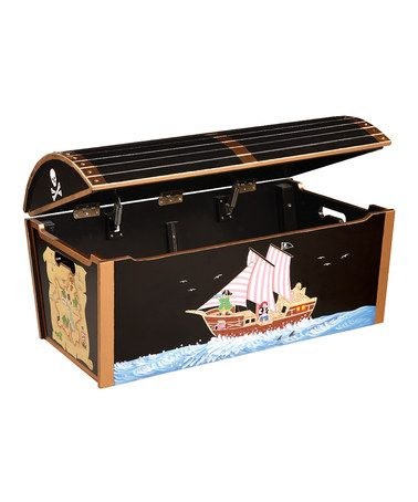 Take a look at this Guidecraft Pirate Treasure Chest by A Pirate's Life Boutique on #zulily today!