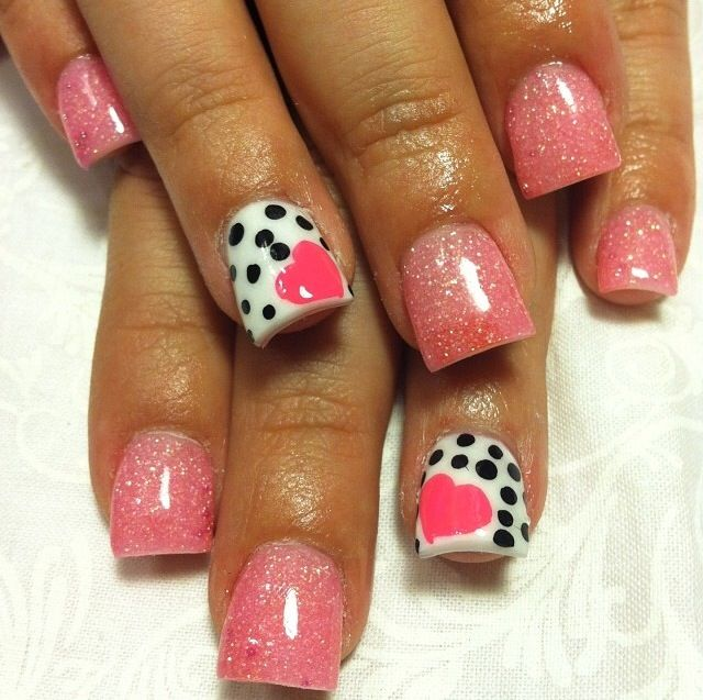 Acrylic nails by Thelma @ Thelma's VIP Nail Salon and Spa